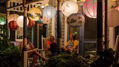 Grand Illumination lights up Martha's Vineyard, August 14, 2013 -- the ...