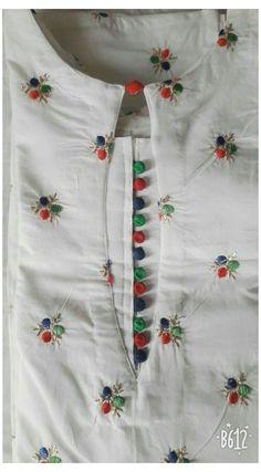Chudidhar Neck Designs, Neck Designs For Suits, Sleeves Designs For Dresses, Neckline Designs, Blouse Neck Designs, Kurti Back Neck Designs, Sleeve Designs For Kurtis, Neck Design For Kurtis, Dress Designs