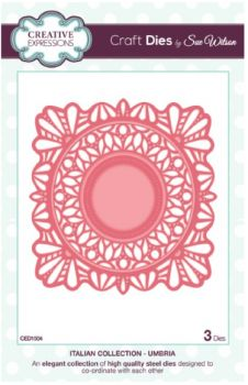 love this die,  Creative Expressions Craft Dies By Sue Wilson - Italian Collection - Umbria