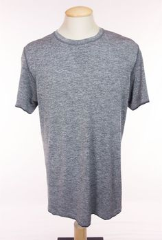 LULULEMON Mens Metal Vent Tech Short Sleeve T-Shirt XL Heathered Gray Tee Yoga #Lululemon #ShirtsTops