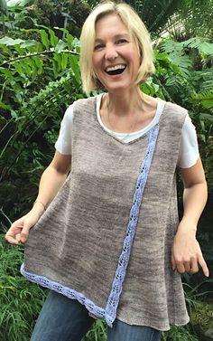 Bay Laurel top by Julie Turjoman on Knitty
