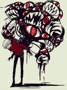 does this go in gore idfk Arte Horror, Horror Art, Anime Kunst, Anime Art, Image Manga, Pics Art, Illustration, Creepy Art, Dark Anime