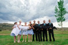 Another Fun Bridal Party Photo From My Cousin's Wedding! Wedding Photography And Videography, Tie The Knots, Wedding Photos, Wedding Ideas, Every Girl, Dream Wedding, Party Pictures, Bridal, Fun