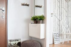 No matter if you have a non-existent entryway or a spacious foyer, this is one of those spots where clutter seems to pile up without anyone even noticing