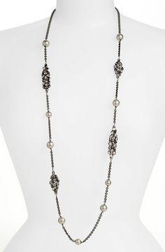 Alexis Bittar Beaded Station Necklace qe7et6cj6z