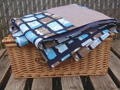 Waterproof Picnic Blanket Photography & Gingham by Poppiezlove
