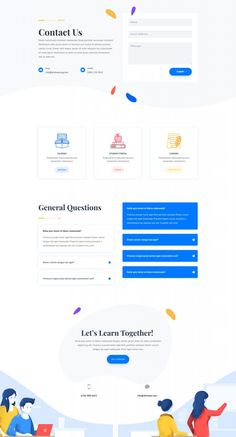Get a FREE Tutor Layout Pack for Divi | Elegant Themes Blog Design Your Own Website, Website Design Layout, Layout Design, Zendesk Help Center, Contact Us Page Design, Wordpress Theme, Page Layout, Web Layout, Layouts