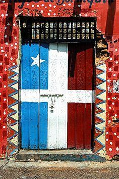 San Juan, Puerto Rico. This is the flag from one of the political parties in Puerto Rico.