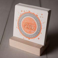 Thiết kế quảng cáo và in ấn :: Ý tưởng thiết kế lịch 2016