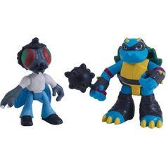 Nickelodeon Teenage Mutant Ninja Turtles Baxter Fly and Slash, Multicolor