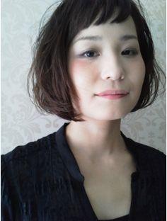 エネロ enero 黒髪でも短い前髪がかわいいフレンチボブ♪