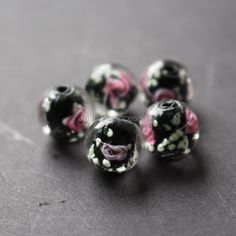 10 PINK ZINC BASED POLYMER CLAY BEADS 11MM FAST FREE P/&P INTRICATE DESIGN