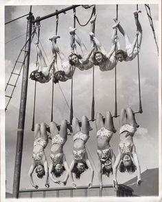 Aerial ballet, 1948