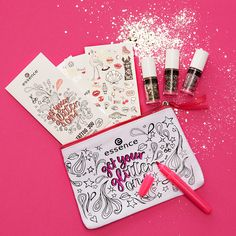 get your glitter on bag! #missionglitter #getyourglitteron #glittergang #essence