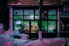 Elsa Bleda (French-Turkish, b. 1988, Aix-les Bains, France, based Johannesburg, South Africa) - Istanbul At Night from the Nightscapes series, 2016 Photography