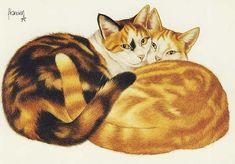 Cards, Cats-Art, Francien.van.Westering - 87