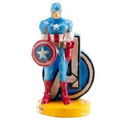 La vela del Capitán América dará espectacularidad a tu tarta