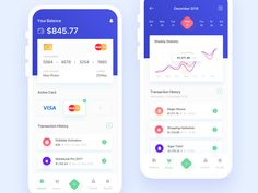 Payment App Exploration by Umar Aji Pratama for OWW on Dribbble Ios App Design, Android Design, Mobile Ui Design, Web Ui Design, User Interface Design, Design Design, Log In Ui, App Log, Ui Design Tutorial