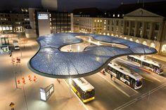 Busüberdachung in Aarau, Vehovar & Jauslin Architektur AG