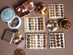 Miniature Chocolates | Flickr - Photo Sharing!