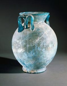 Giclee Print: Glass Vase Uncovered in Pompeii, Campania, Italy : Ancient Pompeii, Pompeii And Herculaneum, Ancient Ruins, Ancient Artifacts, Ancient History, Art Antique, Antique Glass, Glass Vessel, Glass Art