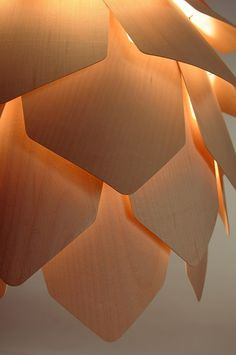 Lighting Design. reminds me of a pine cone :P