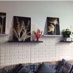 3D Brique Mousse PE Wall Stickers Autocollante Poster À faire soi-même Wall Papers Home Decor