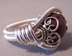 wire & bali ring