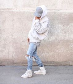 awesome 46 Stylish Ripped Jeans for Men http://attirepin.com/2018/01/07/46-stylish-ripped-jeans-men/