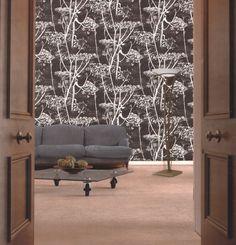 Cow Parsley - Seinäruusu - Verkkokauppa 96 e Cole And Son Wallpaper, Wall Wallpaper, Shabby Chic Tapete, Cole Son, Cow Parsley, Botanical Wallpaper, Retro, Living Area, Living Room Designs