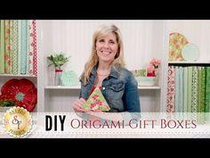 (21) DIY Origami Gift Boxes | with Jennifer Bosworth of Shabby Fabrics - YouTube