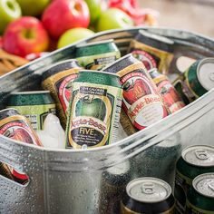 Apple Beer Original and Five Non-Alcoholic Sparkling Ale