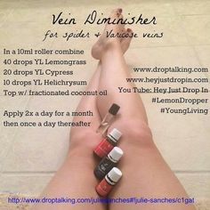 Blends for spider and varicose veins