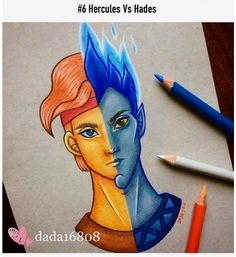 Dada is a talented artist who loves drawing with color pencils and is a huge Disney fan. So it's no wonder that a lot of her artwork features the most lovable Disney characters who you can see in the whole new light. Drawing Cartoon Characters, Character Drawing, Cartoon Drawings, Disney Characters, Films Disney, Character Design, Cute Disney Drawings, Disney Sketches, Drawing Disney
