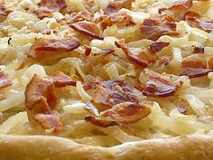 Flammkuchen ~German Pizza