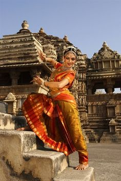 Classic Indian Dance performed in the temples to traditionally communicate with…