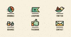5 great examples of personalised social icons