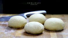 Mega dobré domáce žemle - Coolinári | food blog Hamburger, Bread, Breakfast, Blog, Basket, Morning Coffee, Brot, Blogging, Baking