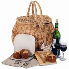 Eco Picnic Basket For Two