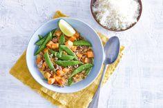 Lichtpittige groene curry met gehakt  - Recept - Allerhande