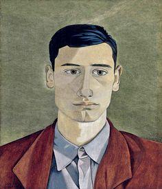 Head Of A Greek Man 1946 By Lucien Freud