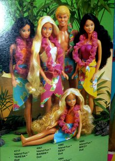Barbie Island Fun 1986