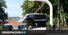 Tecnologia portuguesa carrega autocarros em seis minutos