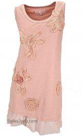 AP Chanel Shirt Dress In Peach