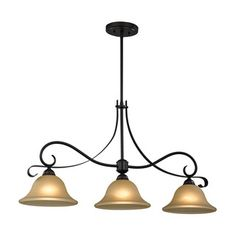 Shop for Cornerstone Brighton 3 Light Island In Oil Rubbed Bronze. Get free shipping at Overstock.com - Your Online Home Decor Outlet Store! Get 5% in rewards with Club O!