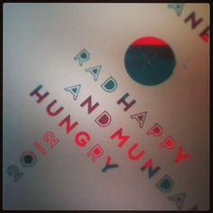 Xmas gift from Maria. #radandhungry