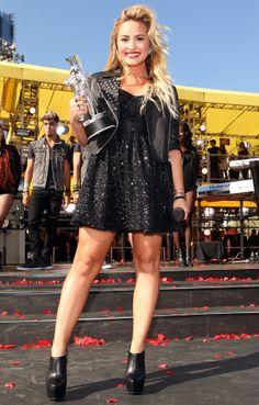 MTV Video Music Awards I Demi Lovato Nick Jonas Smile 0547cd206