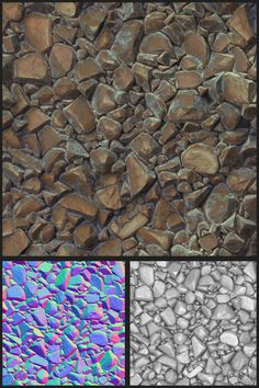 Rock texture, COLOR/NORM/SPEC