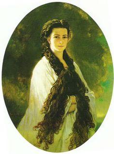 Elisabeth Kaiserin von Österreich, 1864, Franz Xaver Winterhalter