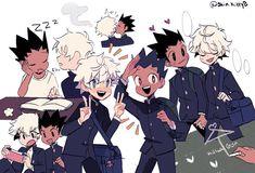 Hunter Anime, Hunter X Hunter, Hisoka, Killua, Bullet Journal Japan, Art Inspo, Character Art, Dumpster Fire, Marvel